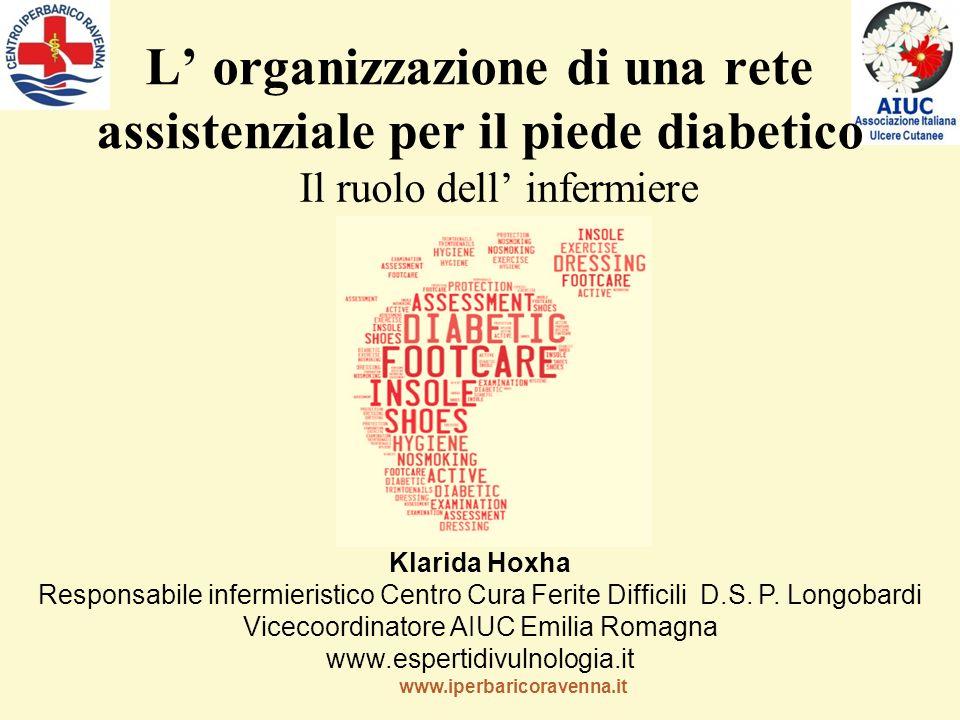 L' organizzazione di una rete assistenziale per il piede diabetico