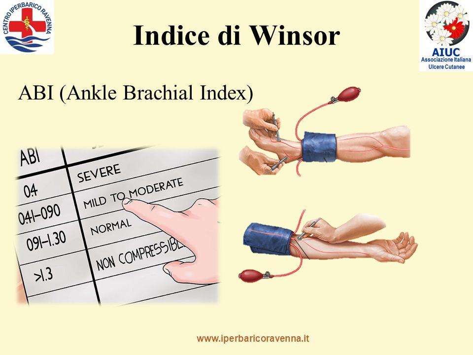 Indice di Winsor ABI (Ankle Brachial Index)
