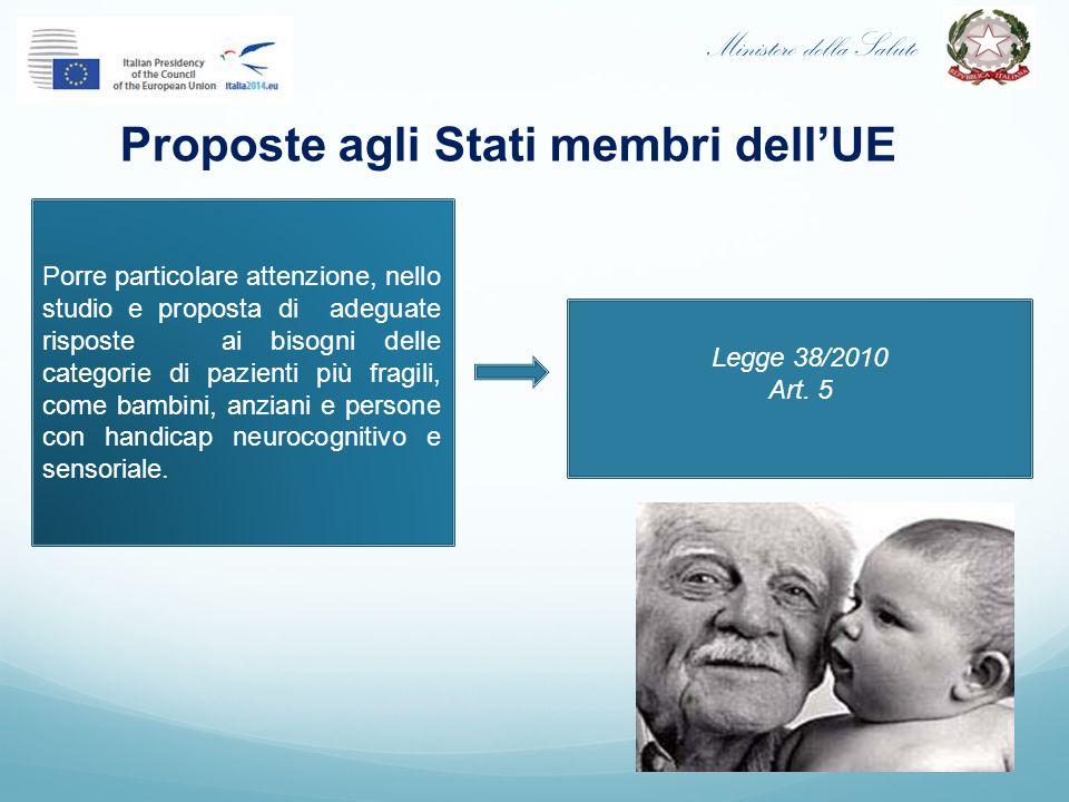 Proposte agli Stati membri dell'UE