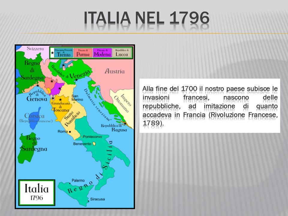 Italia nel 1796