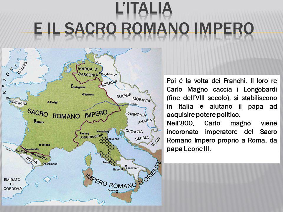L'Italia e il sacro romano impero