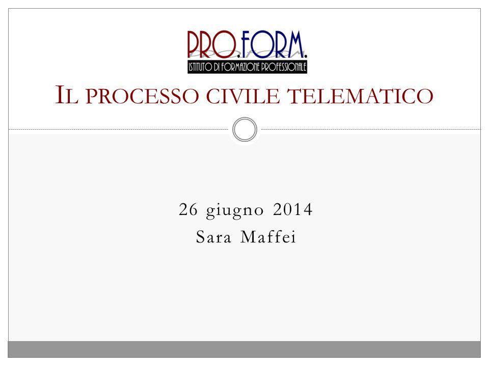 Il processo civile telematico