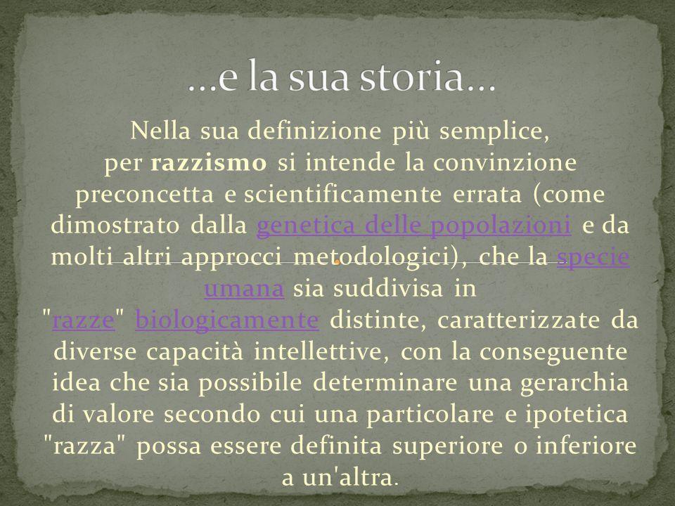 …e la sua storia…