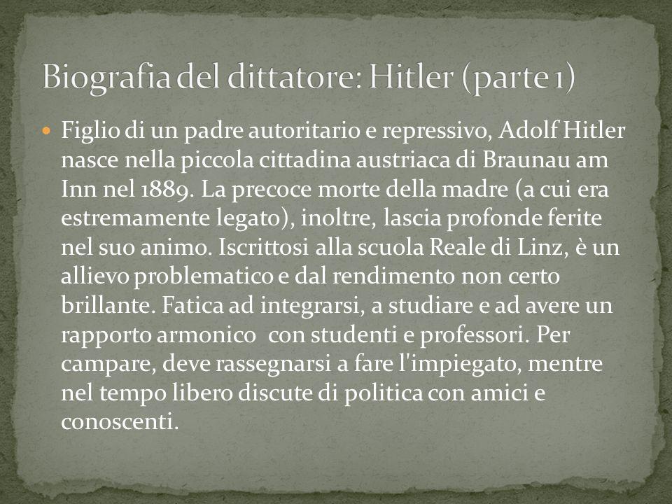 Biografia del dittatore: Hitler (parte 1)