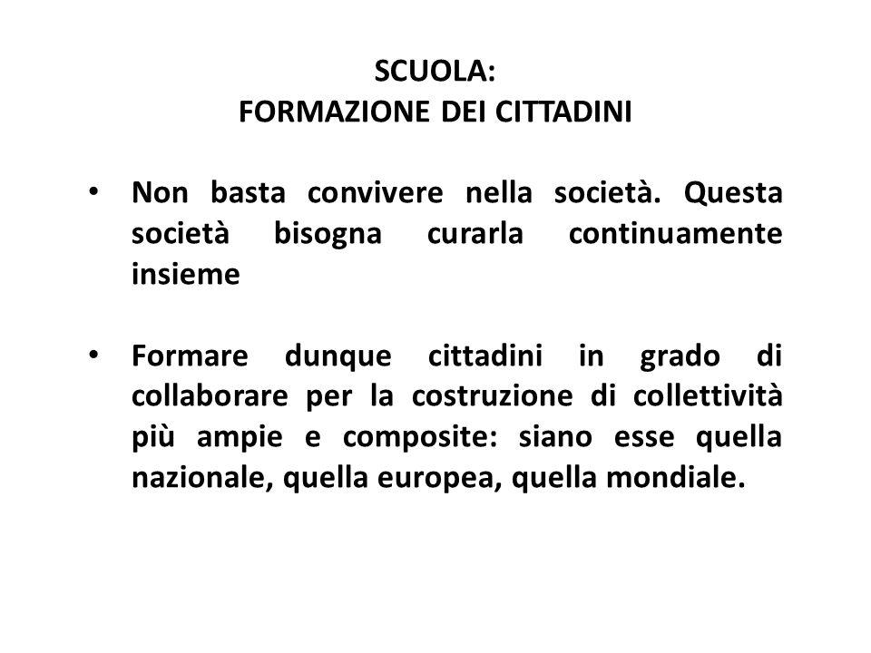 Formazione dei cittadini
