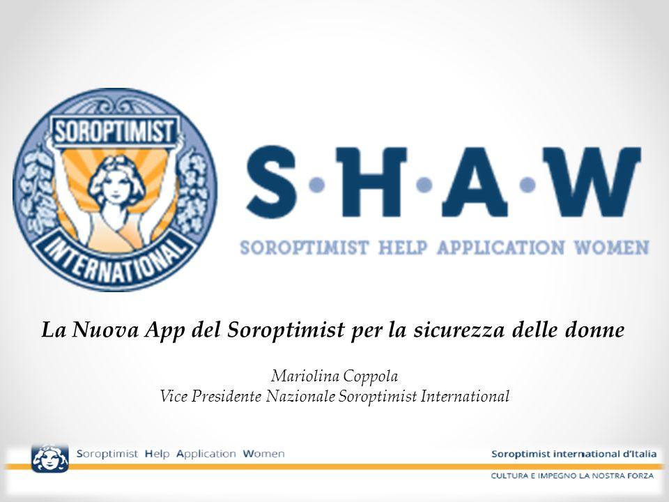 La Nuova App del Soroptimist per la sicurezza delle donne
