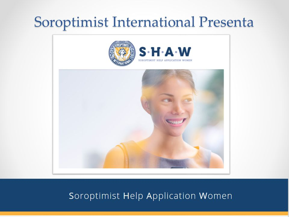 Soroptimist International Presenta
