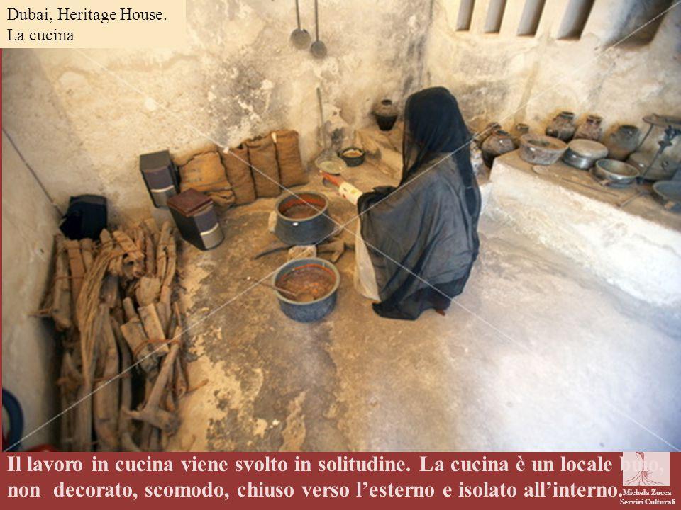 Dubai, Heritage House. La cucina. .