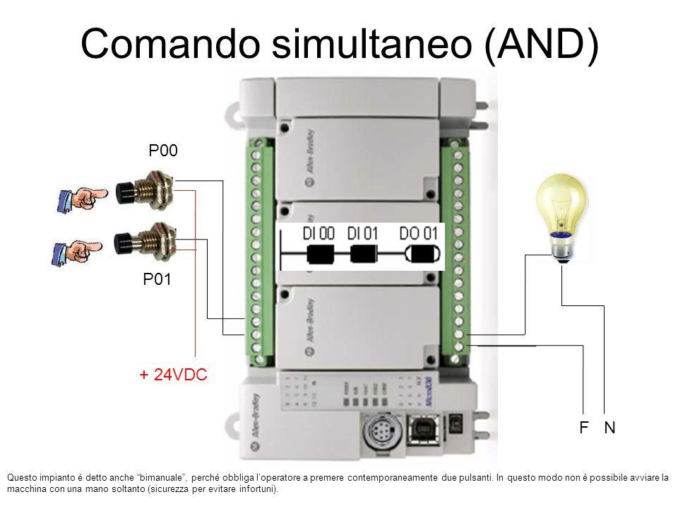 Comando simultaneo (AND)