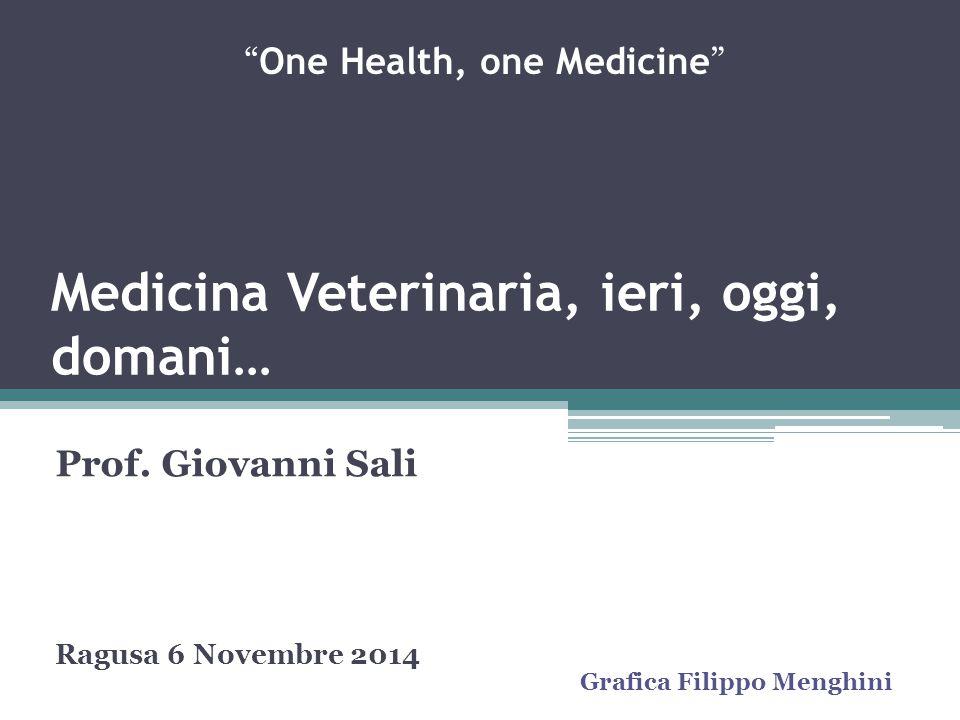 Medicina Veterinaria, ieri, oggi, domani…