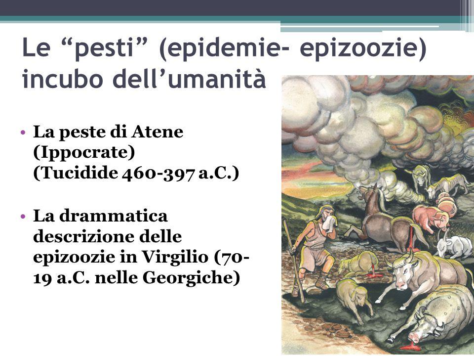 Le pesti (epidemie- epizoozie) incubo dell'umanità