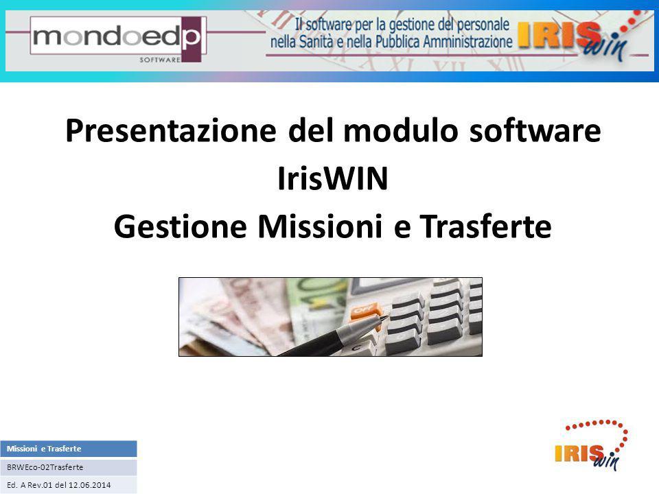 Sistema informativo IrisWIN
