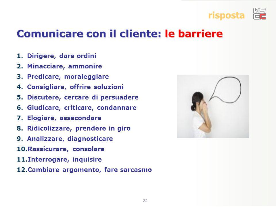 Comunicare con il cliente: le barriere