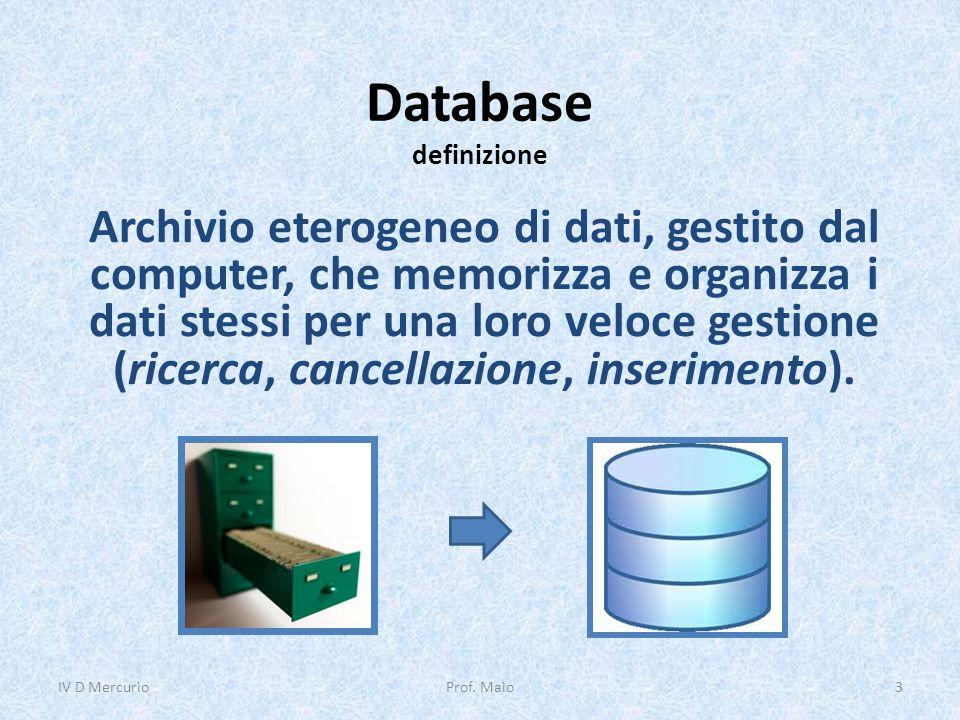 Database definizione