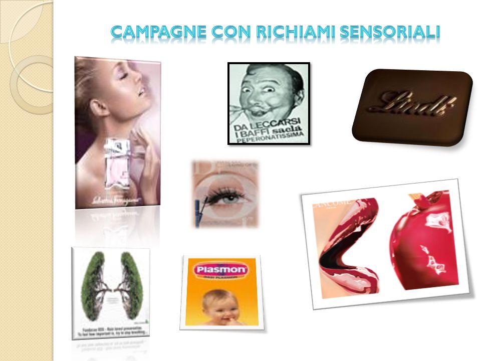 Campagne con richiami sensoriali