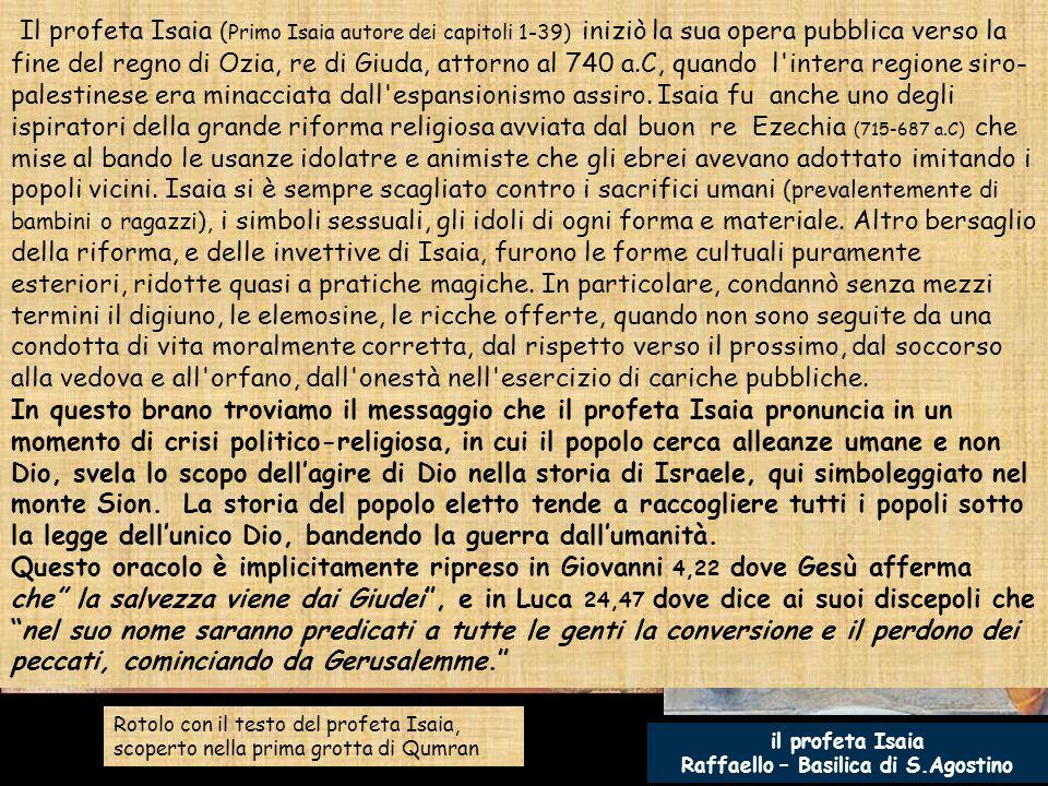 Raffaello – Basilica di S.Agostino