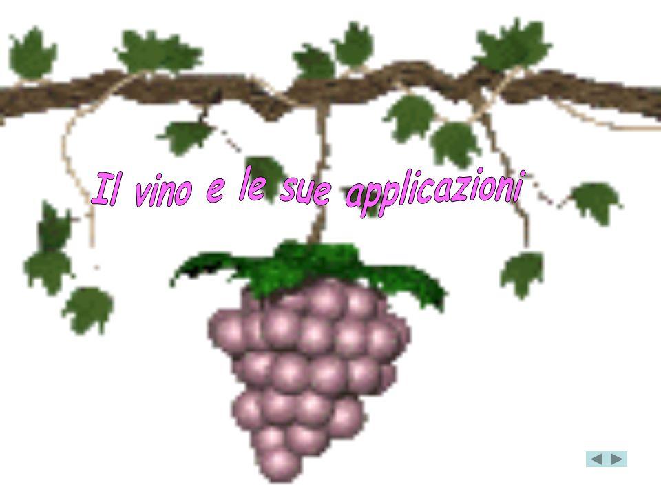 Il vino e le sue applicazioni