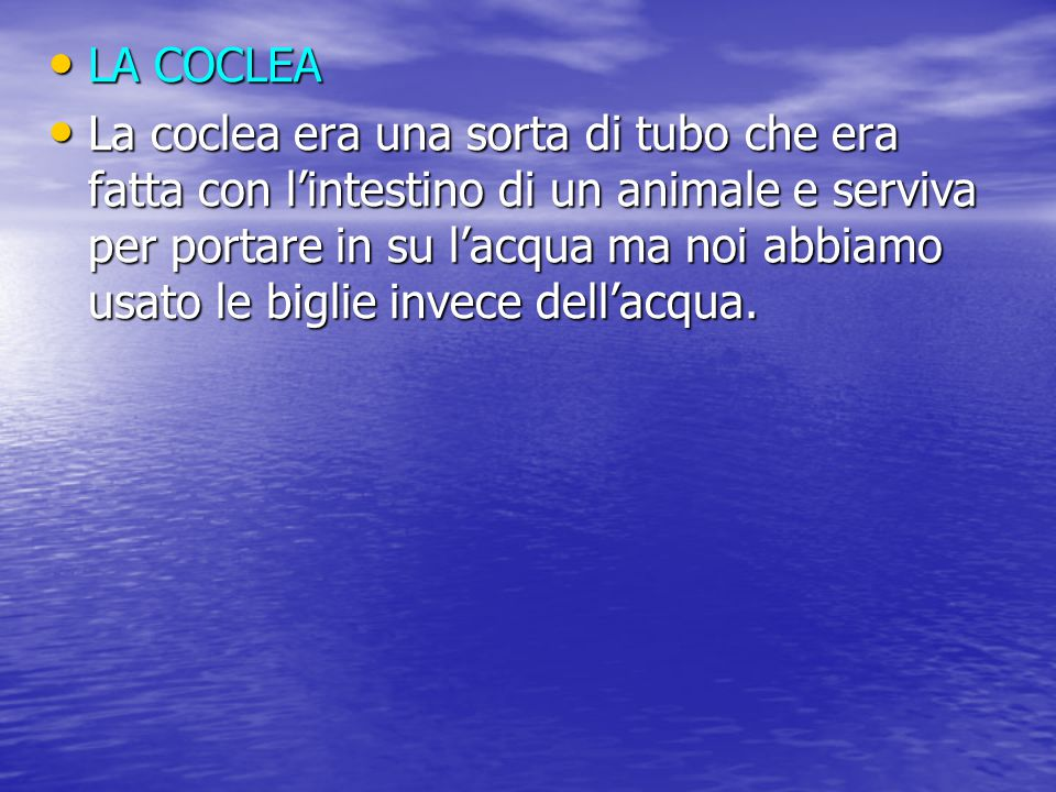 LA COCLEA