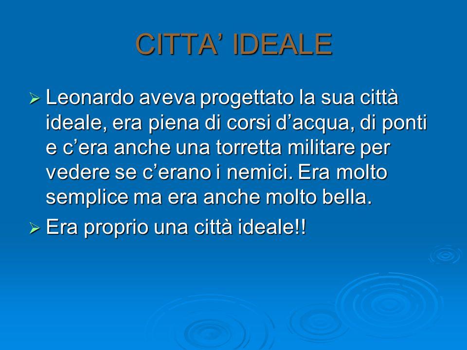 CITTA' IDEALE