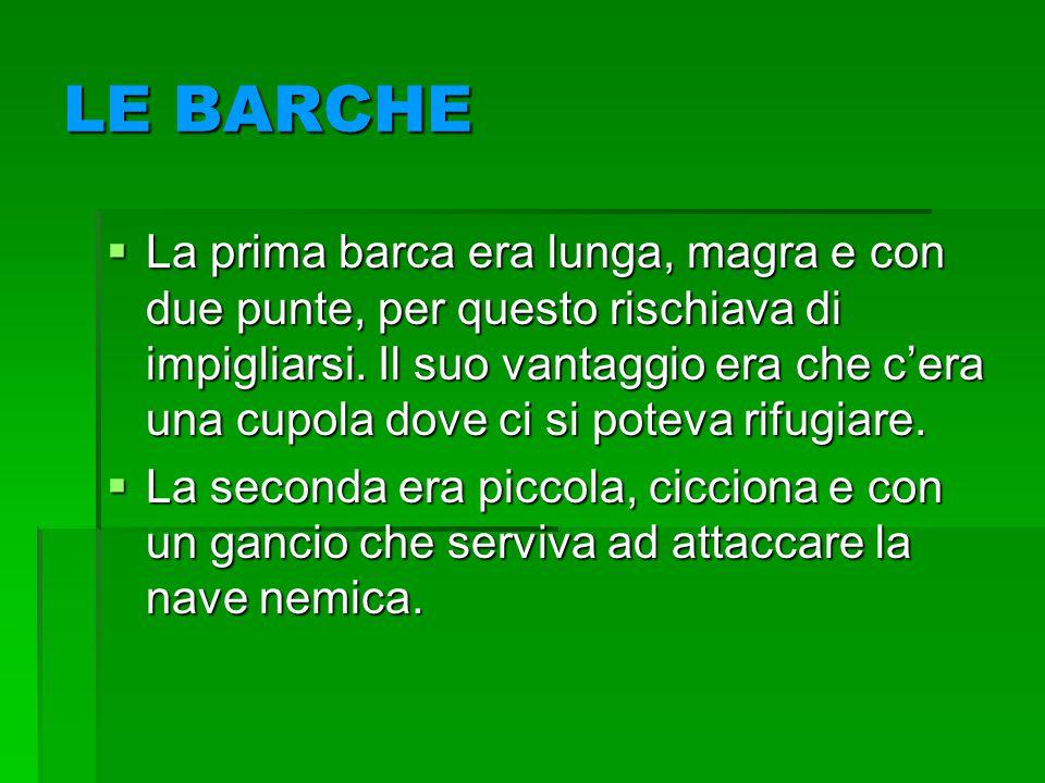 LE BARCHE