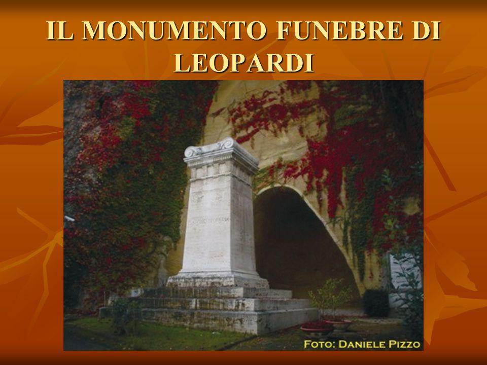 IL MONUMENTO FUNEBRE DI LEOPARDI