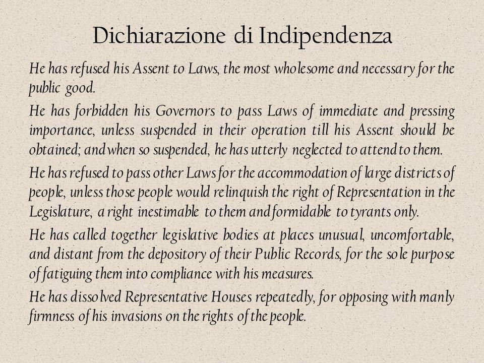 Dichiarazione di Indipendenza