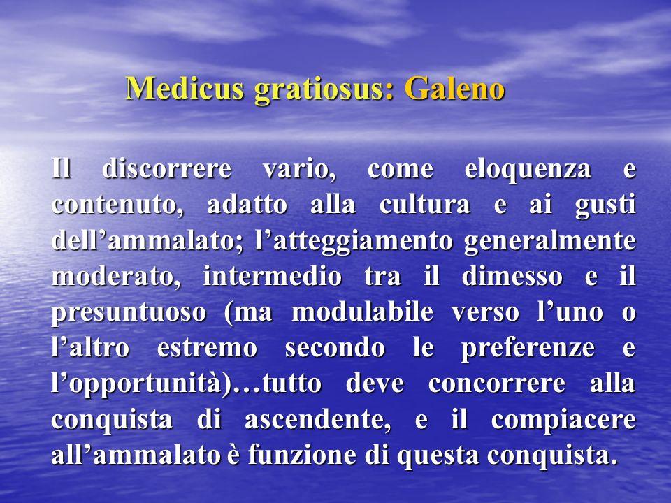 Medicus gratiosus: Galeno