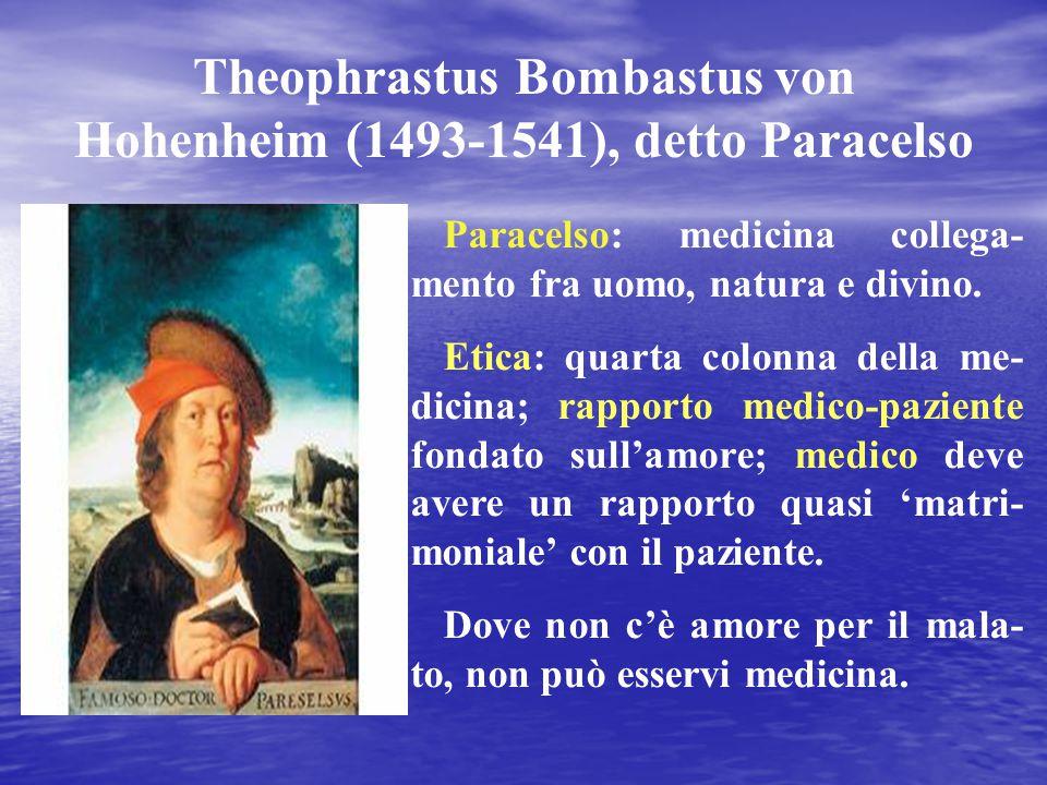 Theophrastus Bombastus von Hohenheim (1493-1541), detto Paracelso