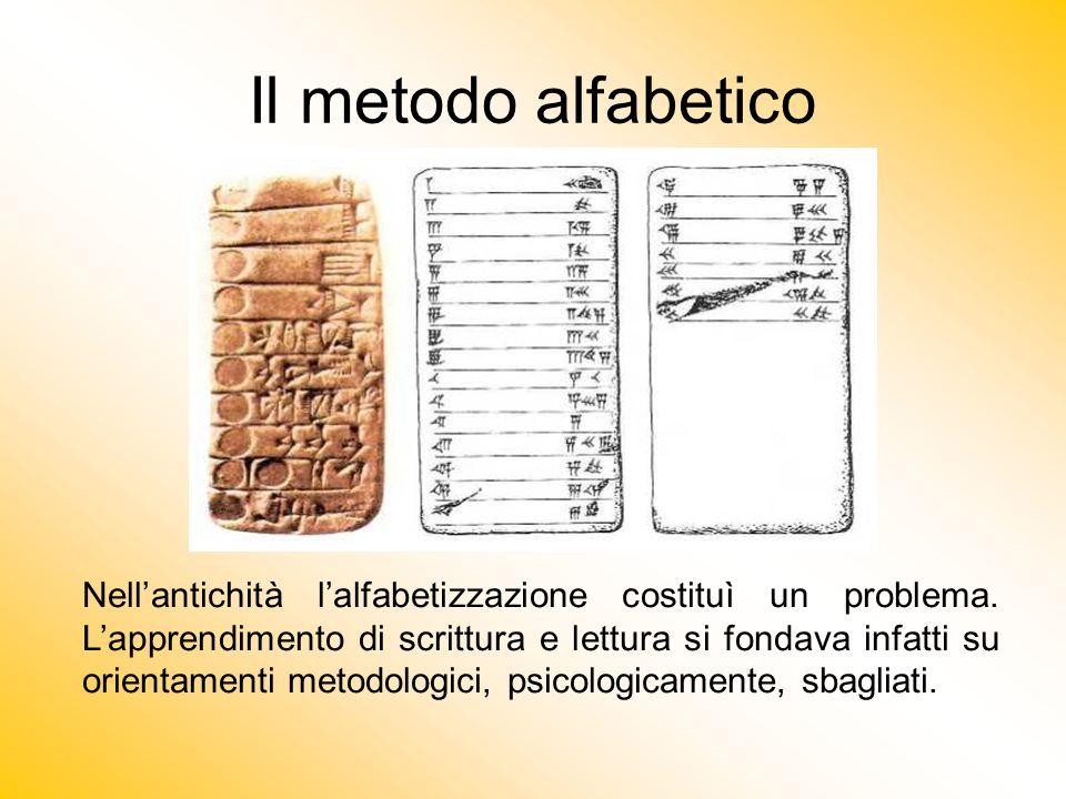Il metodo alfabetico