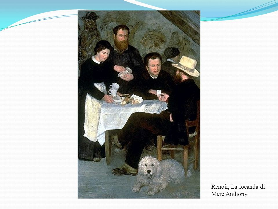 Renoir, La locanda di Mere Anthony