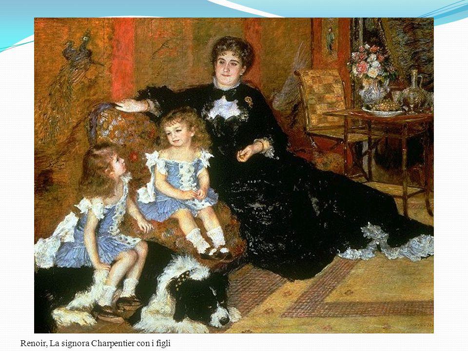 Renoir, La signora Charpentier con i figli