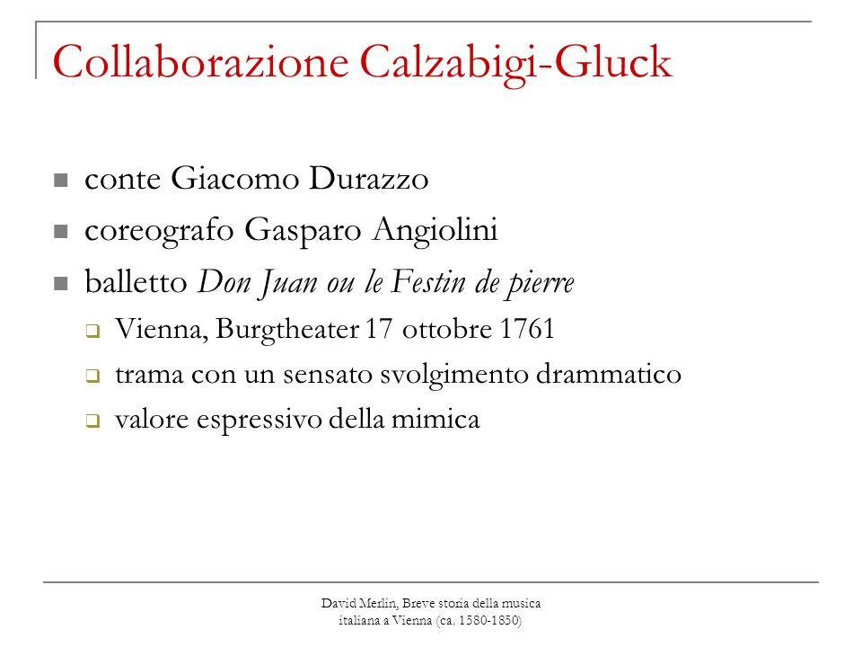 Collaborazione Calzabigi-Gluck