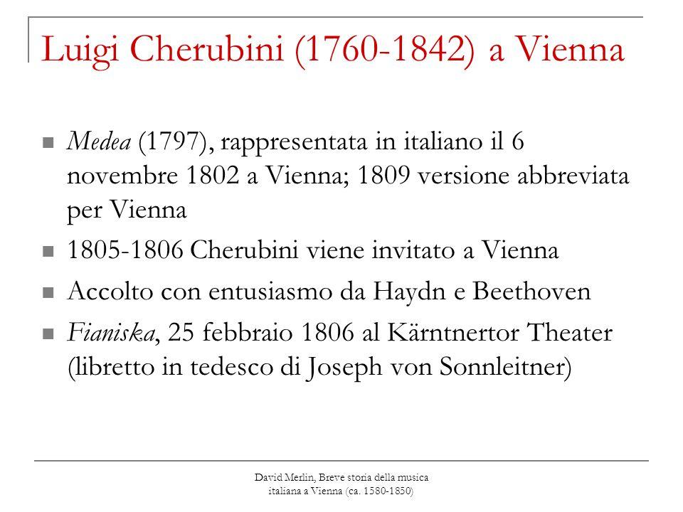 Luigi Cherubini (1760-1842) a Vienna