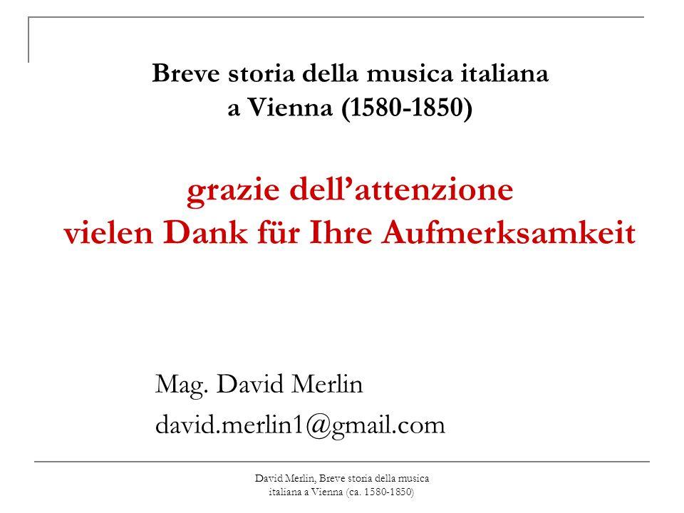 Mag. David Merlin david.merlin1@gmail.com