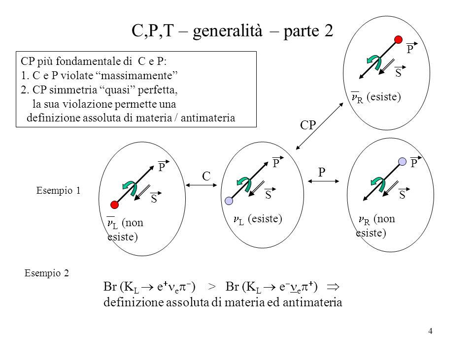 C,P,T – generalità – parte 2