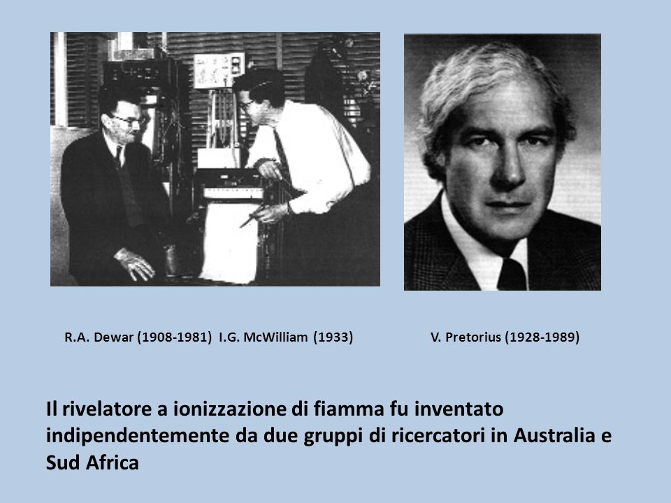 R.A. Dewar (1908-1981) I.G. McWilliam (1933) V. Pretorius (1928-1989)