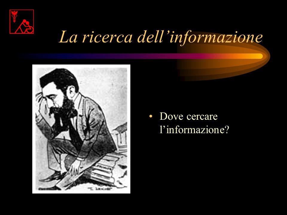 La ricerca dell'informazione
