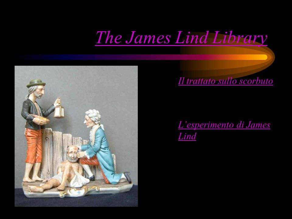 The James Lind Library Il trattato sullo scorbuto