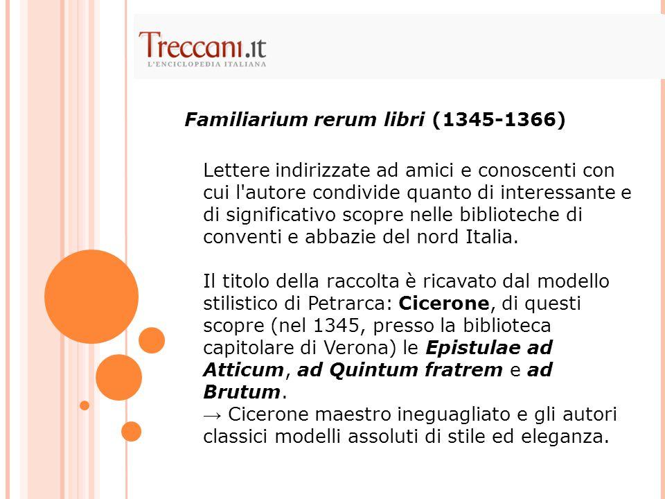 Familiarium rerum libri (1345-1366)