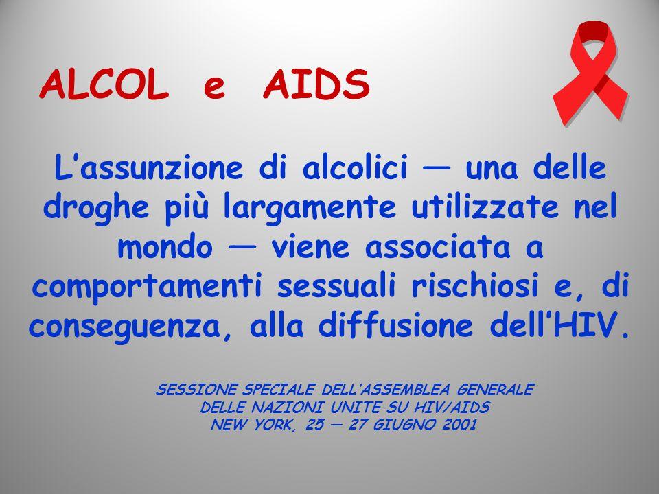 ALCOL e AIDS