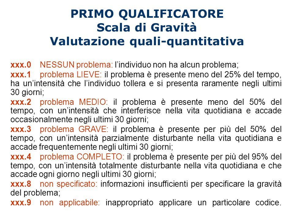 Valutazione quali-quantitativa