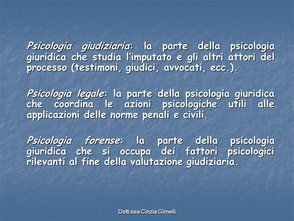 Dott.ssa Cinzia Gimelli