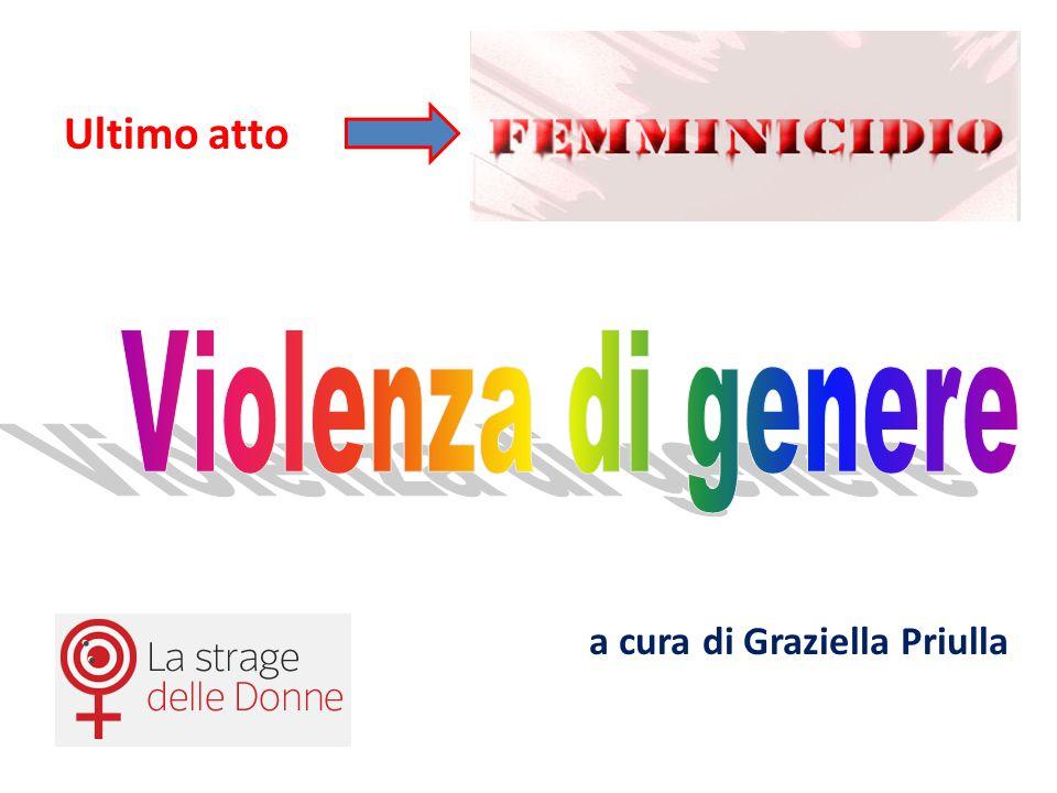 Ultimo atto Violenza di genere a cura di Graziella Priulla