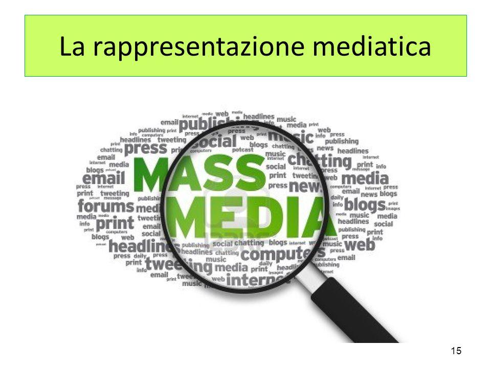 La rappresentazione mediatica