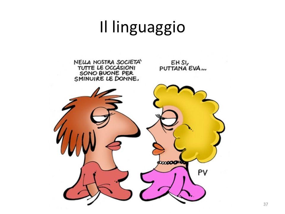 Il linguaggio 37