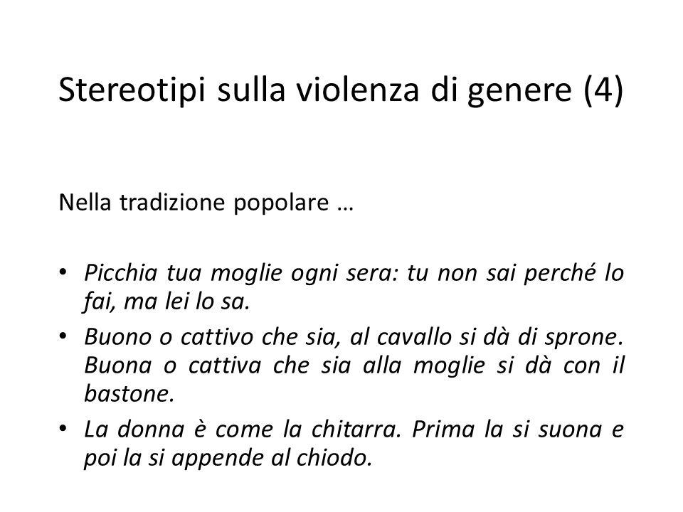 Stereotipi sulla violenza di genere (4)