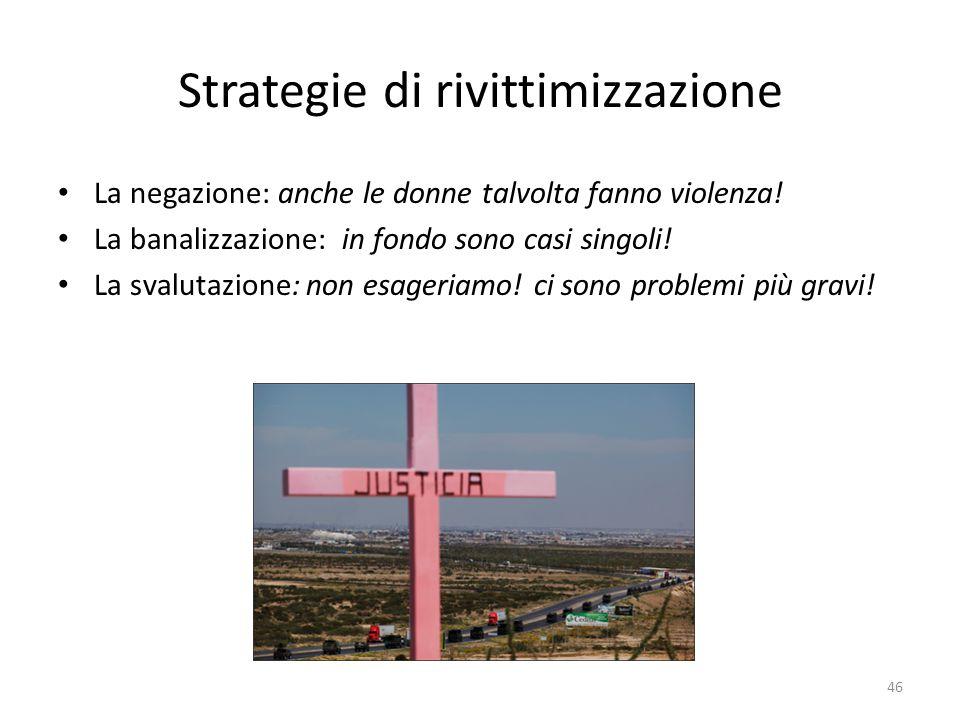 Strategie di rivittimizzazione