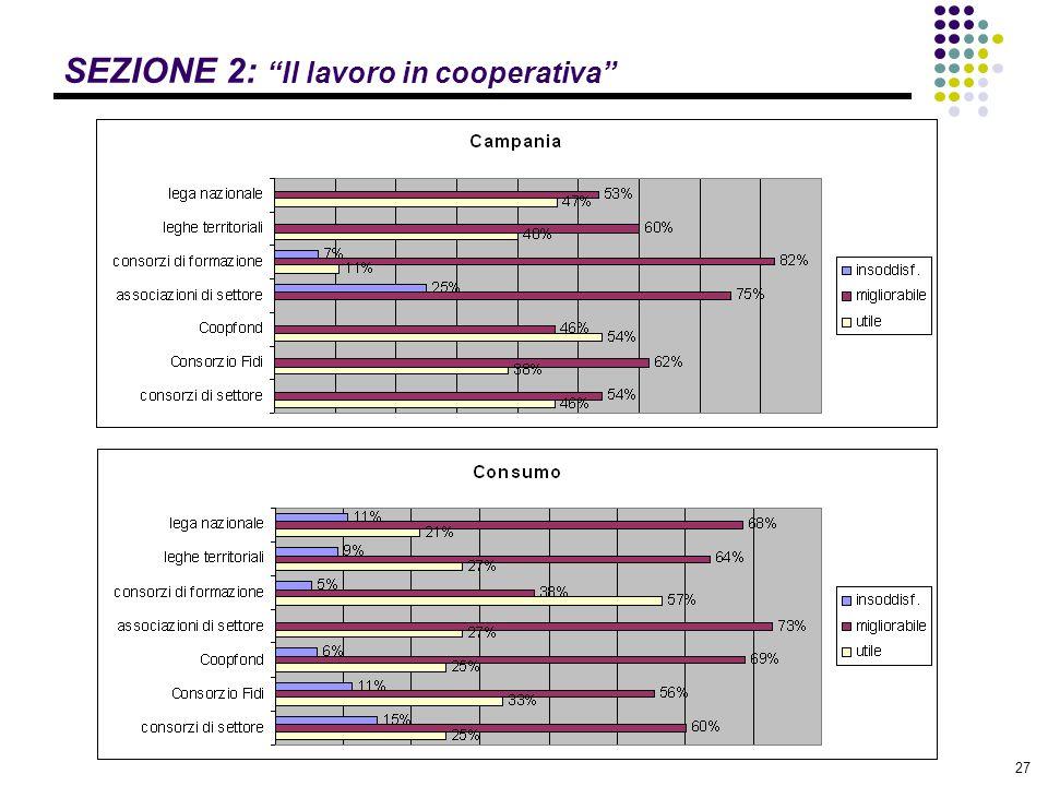SEZIONE 2: Il lavoro in cooperativa