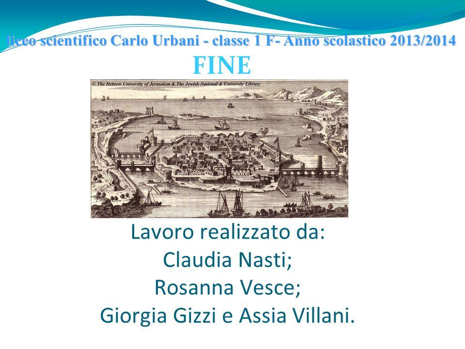 liceo scientifico Carlo Urbani - classe 1 F- Anno scolastico 2013/2014