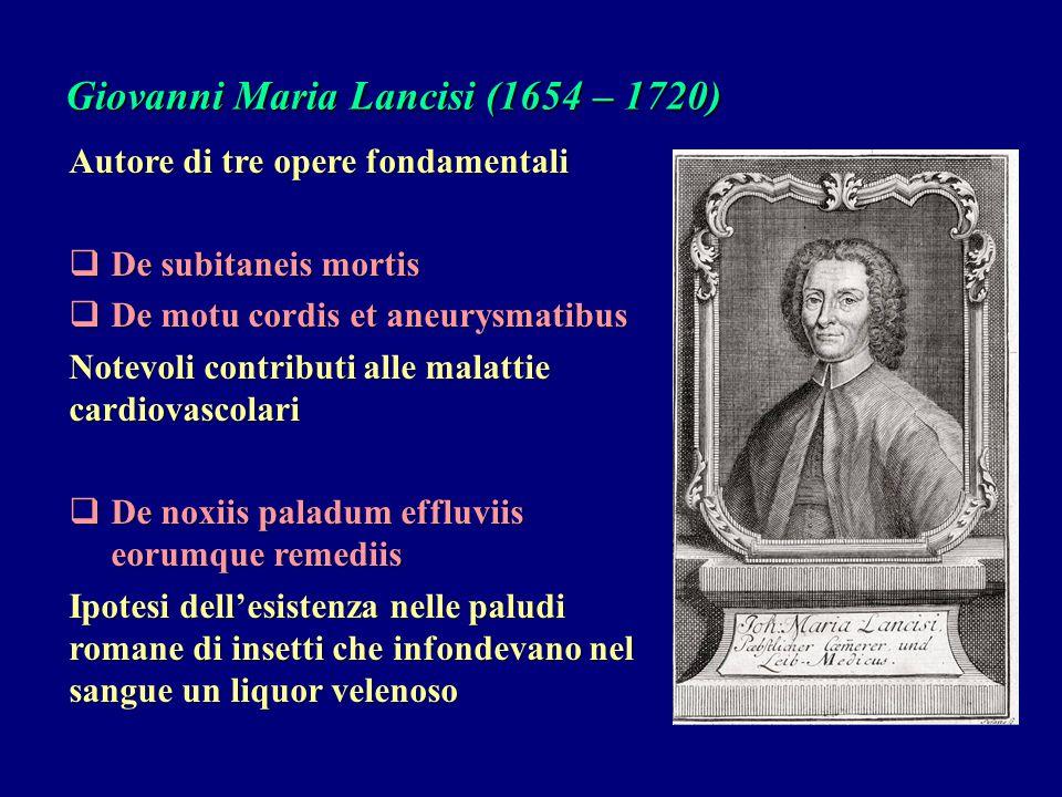 Giovanni Maria Lancisi (1654 – 1720)